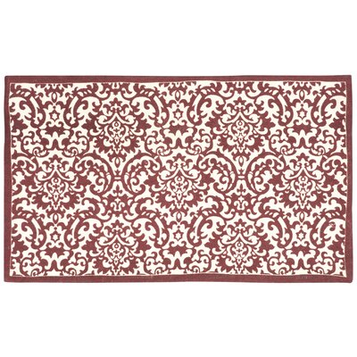 Art House Dunkin Crimson/Cream Accent Rug