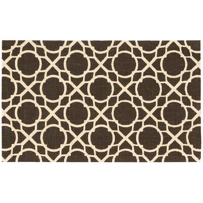 Color Motion Perfect Fit Brown Area Rug