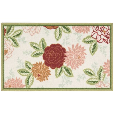 Fancy And Free Cheri Snow Pink Area Rug Rug Size: Rectangle 12 x 15