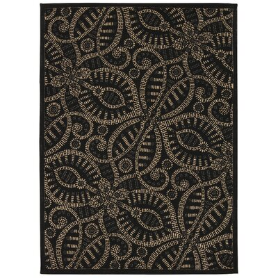 Color Motion Belle of the Ball Licorice Area Rug Rug Size: 5 x 7