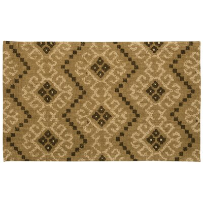 Color Motion Kurta Ember Brown Area Rug Rug Size: Rectangle 23 x 39