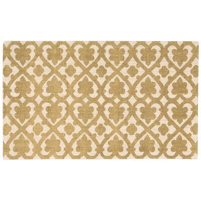 Color Motion Hand-Woven Gold Area Rug