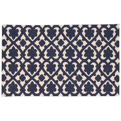 Color Motion Soul Mate Hand-Woven Blue Area Rug