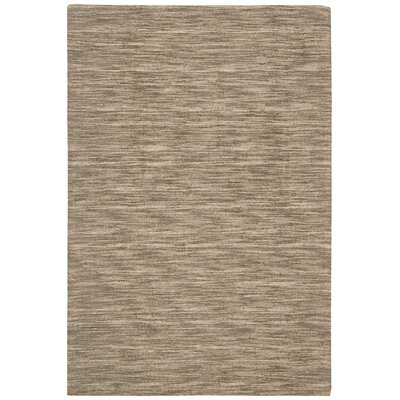 Grand Suite Ottoman Hand-Woven Stone Area Rug Rug Size: Rectangle 5 x 76