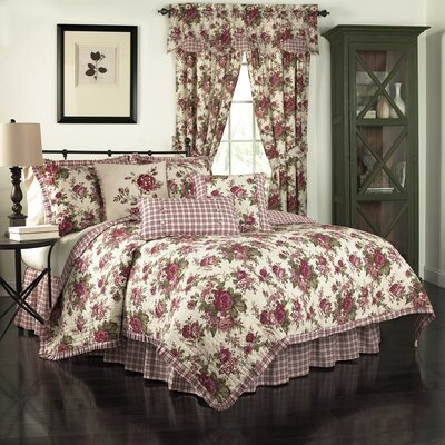 Norfolk Reversible Quilt Set Size: King