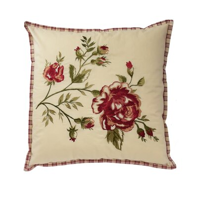 Norfolk Cotton Throw Pillow