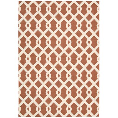 Sun n Shade Ellis Sienna Indoor/Outdoor Area Rug Rug Size: 2 x 3