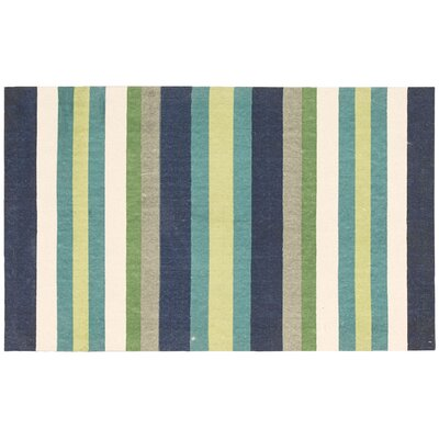 Art House Harmony Blue/Green Area Rug Rug Size: Rectangle 18 26