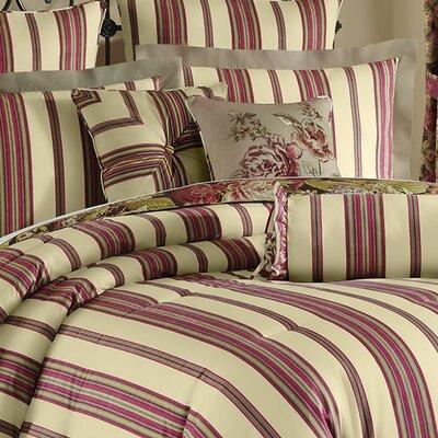 Floral Flourish Cordial Cotton Bolster Pillow