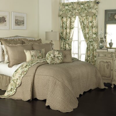 Garden Glory 3 Piece Reversible Comforter Set Size: Queen