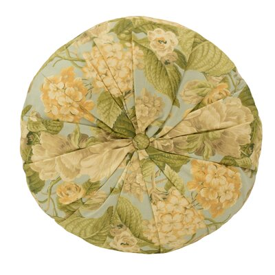 Garden Glory Cotton Throw Pillow