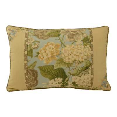 Garden Glory Cotton Lumbar Pillow