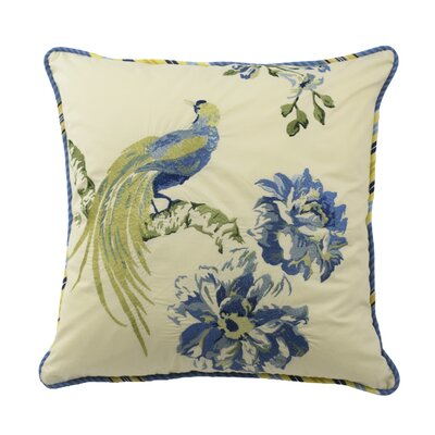 Floral Engagement 100% Cotton Throw Pillow