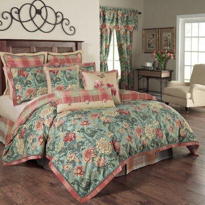 Sonnet Sublime 4 Piece Reversible Comforter Set Size: Queen