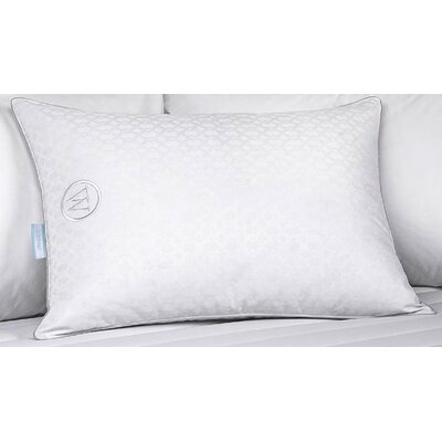 Ellis Jacquard Down Pillow Size: King