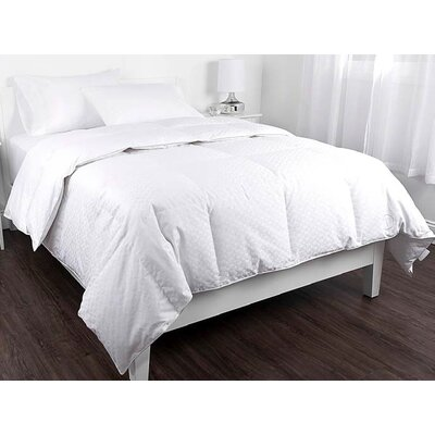 Ellis Jacquard All Season Down Comforter Size: Full/Queen