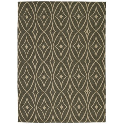 Color Motion Centro Stone Area Rug Rug Size: 5 x 7
