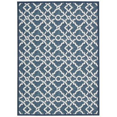 Treasures Artistic Twist Blue Jay Area Rug Rug Size: Rectangle 8 x 10