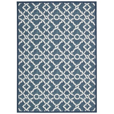 Treasures Artistic Twist Blue Jay Area Rug Rug Size: 5 x 7