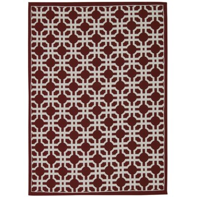 Art House Groovy Grille Cordial Area Rug Rug Size: Rectangle 5 x 7