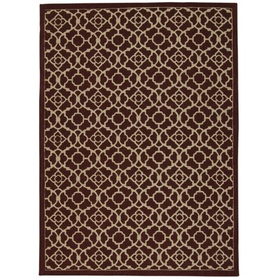Color Motion Lovely Lattice Cordial Area Rug Rug Size: Rectangle 23 x 39