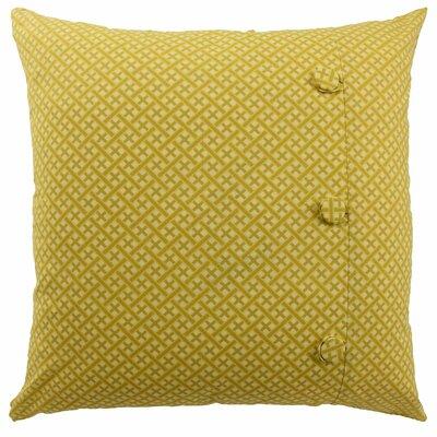 Swept Away Decorative Cotton Throw Pillow