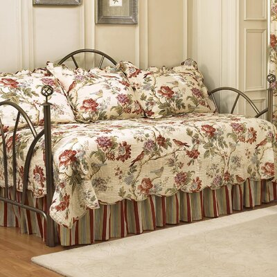 Charleston Chirp 5 Piece Reversible Daybed Set