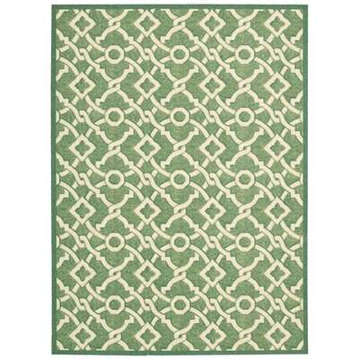 Treasures Artistic Twist Moss Area Rug Rug Size: Rectangle 8 x 10