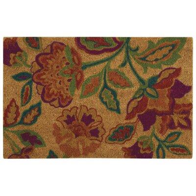 Greetings Katia Work Doormat Rug Size: 2 X 3, Color: Orange