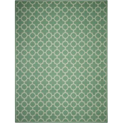 Sun and Shade Indoor/Outdoor Sage Area Rug Rug Size: Rectangle 10 x 13