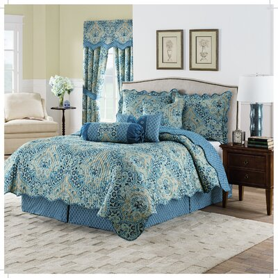 Moonlit Shadows Quilt Set Size: Twin