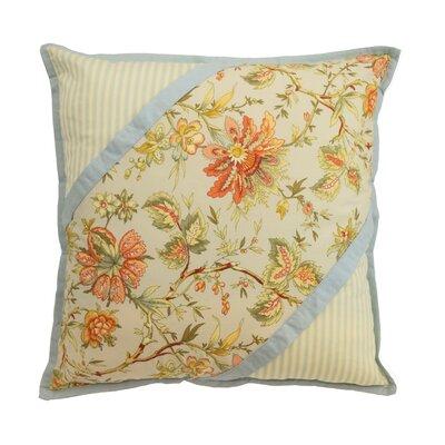 Felicite - Persimmon Cotton Throw Pillow