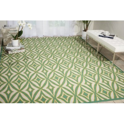 Sun n Shade Centro Green Indoor/Outdoor Area Rug Rug Size: Rectangle 10 x 13
