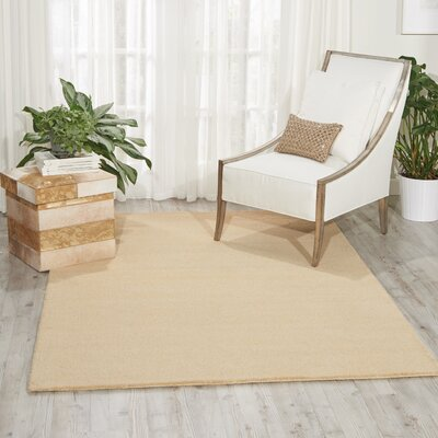 Grand Suite Ottoman Hand-Woven Cream Area Rug Rug Size: Rectangle 4 x 6
