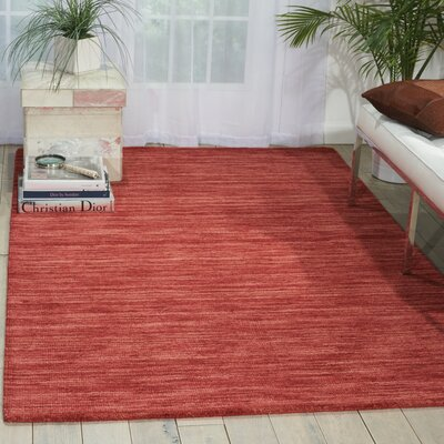Grand Suite Ottoman Hand-Woven Cordial Area Rug Rug Size: Rectangle 23 x 39