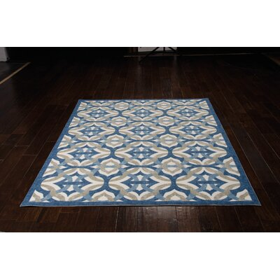 Sun n Shade Tipton Celestial Indoor/Outdoor Area Rug Rug Size: Rectangle 53 x 75