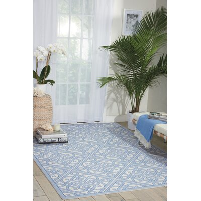 Sun n Shade Blue Indoor/Outdoor Area Rug Rug Size: Rectangle 10 x 13