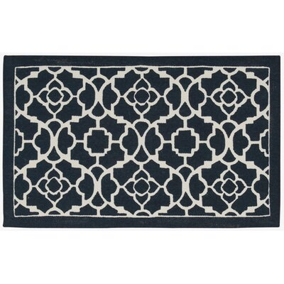 Art House Doormat Rug Size: 23 x 39, Color: Ocean