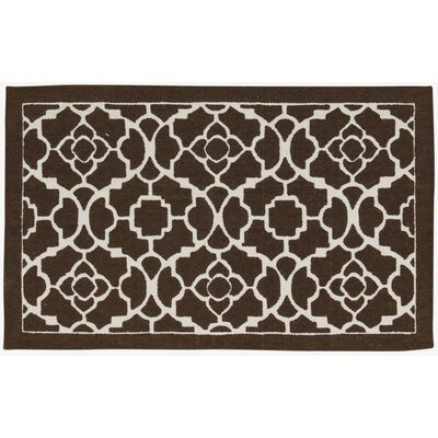Art House Doormat Mat Size: 18 x 210, Color: Walnut