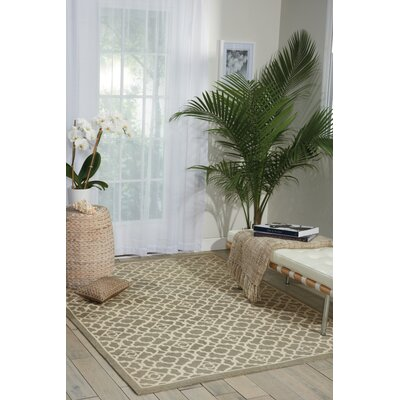 Waverly Color Motion Lovely Lattice Stone Area Rug Rug Size: 23 x 39