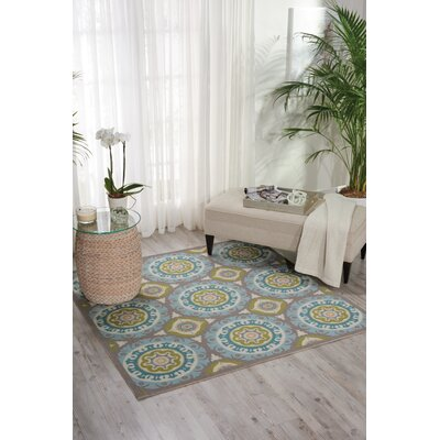 Sun n Shade Solar Flair Indoor/Outdoor Area Rug Rug Size: Rectangle 23 x 39