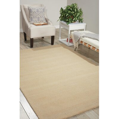 Grand Suite Ottoman Hand-Woven Cream Area Rug Rug Size: Rectangle 23 x 39