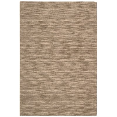 Grand Suite Ottoman Hand-Woven Stone Area Rug Rug Size: Rectangle 23 x 39