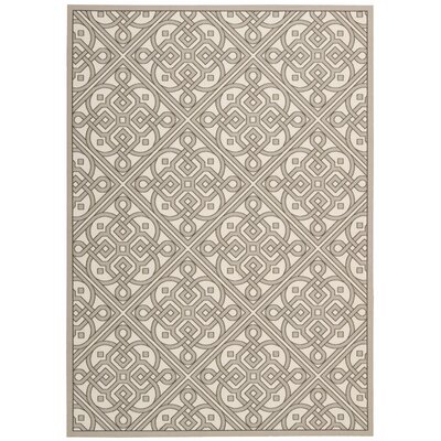 Sun n Shade Hand Tufted Stone Indoor/Outdoor Area Rug Rug Size: Rectangle 10 x 13