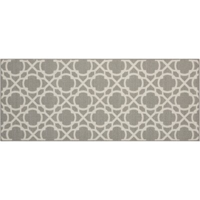 Fancy Free & Easy Perfect Fit Stone Area Rug Rug Size: 110 x 46