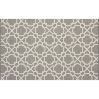 Fancy Free & Easy Perfect Fit Stone Area Rug Rug Size: Rectangle 26 x 4