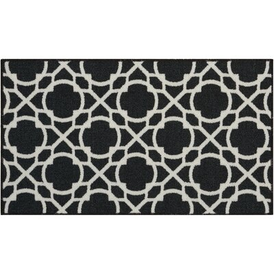 Fancy and Free Onyx Area Rug Rug Size: 110 x 46