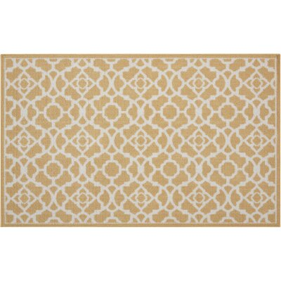 Fancy Free & Easy Luminary Gold Area Rug Rug Size: Rectangle 16 x 26