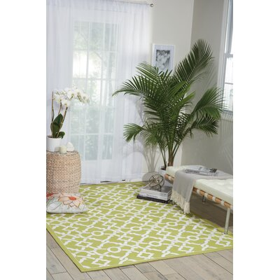 Art House Artistic Twist Moss Area Rug Rug Size: Rectangle 23 x 39