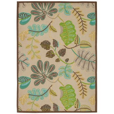 Art House A New Leaf Meadow Area Rug Rug Size: Rectangle 23 x 39